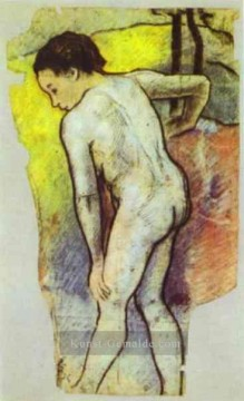 Paul Gauguin Werke - Study for the Bathers Post Impressionismus Primitivismus Paul Gauguin