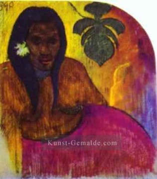 Paul Gauguin Werke - Tahitian Woman c Post Impressionismus Primitivismus Paul Gauguin