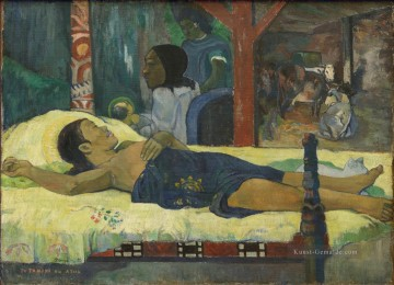 Paul Gauguin Werke - Te Tamari No Atua Nativity Post Impressionismus Primitivismus Paul Gauguin