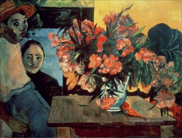 Paul Gauguin Werke - Te Tiare Farani Bouquet of Blumen Post Impressionismus Primitivismus Paul Gauguin