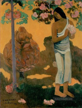 Paul Gauguin Werke - Te avae no Maria Month of Maria Post Impressionismus Primitivismus Paul Gauguin