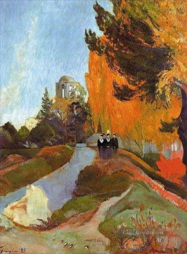 Paul Gauguin Werke - The Alyscamps Post Impressionismus Primitivismus Paul Gauguin
