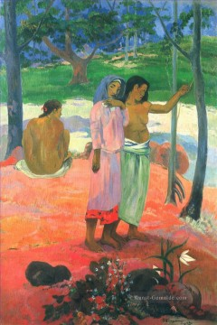 Paul Gauguin Werke - The Call Post Impressionismus Primitivismus Paul Gauguin