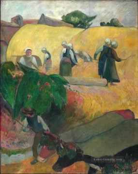 the annunciation 1785 Ölbilder verkaufen - The Haystacks Paul Gauguin