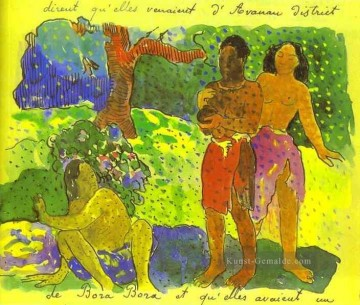 Paul Gauguin Werke - The Messengers of Oro Post Impressionismus Primitivismus Paul Gauguin