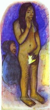 Paul Gauguin Werke - Words of the Devil c Post Impressionismus Primitivismus Paul Gauguin