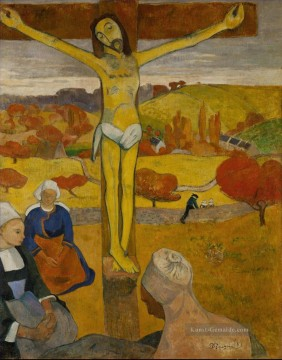 Paul Gauguin Werke - Le Christ jaune The Yellow Christ Post Impressionismus Primitivismus Paul Gauguin