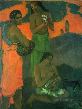 Paul Gauguin Werke - Motherhood Women on the Shore Post Impressionismus Primitivismus Paul Gauguin