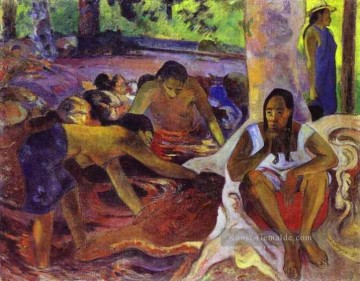 Paul Gauguin Werke - The Fisherwomen of Tahiti Post Impressionismus Primitivismus Paul Gauguin
