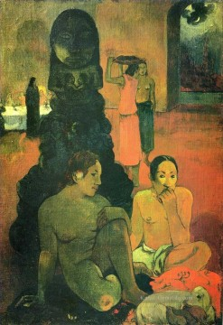 Paul Gauguin Werke - The Great Buddha Post Impressionismus Primitivismus Paul Gauguin