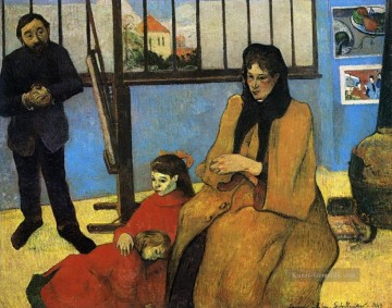 Paul Gauguin Werke - The Schuffenecker Family Post Impressionismus Primitivismus Paul Gauguin