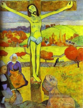 Paul Gauguin Werke - The Yellow Christ Post Impressionismus Primitivismus Paul Gauguin