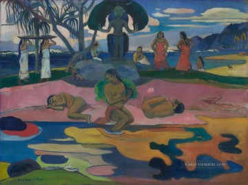 Paul Gauguin Werke - Mahana no atua Day of God c Post Impressionismus Primitivismus Paul Gauguin