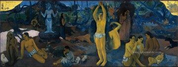 Paul Gauguin Werke - D ou venonsnous Que sommes nous Ou allons nous Where Do We come from What Are We Where Are We Going Paul Gauguin