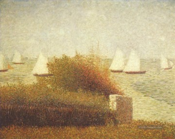Georges Seurat Werke - Rennen in Grand 1885