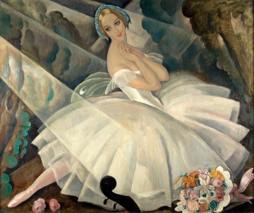 The Ballerina Ulla Poulsen in the Ballet Chopiniana Gerda Wegener