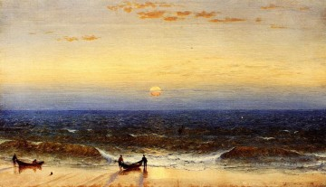 New Galerie - Sonnenaufgang Long Branch New Jersey Szenerie Sanford Robinson Gifford