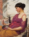 Ismenia 1908 Neoclassicist Dame John William Godward