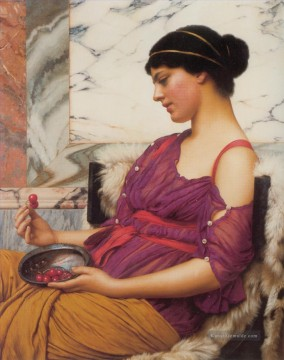 Ismenia 1908 Neoclassicist Dame John William Godward Ölgemälde