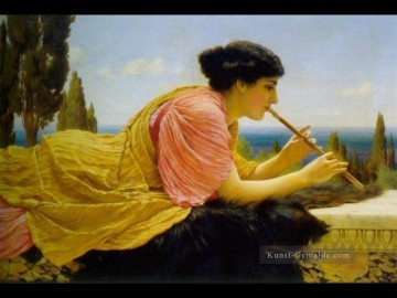 Melody 1904 Neoclassicist Dame John William Godward Ölgemälde