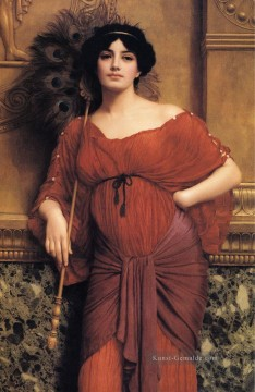 1905 Galerie - Römerin 1905 Neoclassicist Dame John William Godward