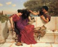 The Old Old Story Neoclassicist Dame John William Godward