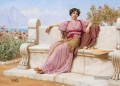 Tranquility Neoclassicist Dame John William Godward