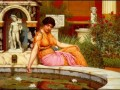 Lily Pond 1901 Neoclassicist Dame John William Godward