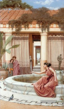 Innocent Amusements Neoclassicist Dame John William Godward Ölgemälde