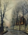 November Moonlight Stadtlandschaften John Atkinson Grimshaw