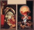 Annunciation and Resurrection Renaissance Matthias Grunewald