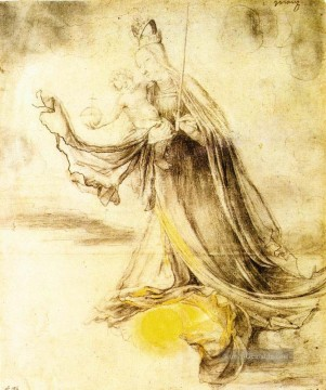renaissance Ölbilder verkaufen - Mary with the Sun below her Feet Renaissance Matthias Grunewald