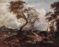 Landschaft Venezia Schule Francesco Guardi