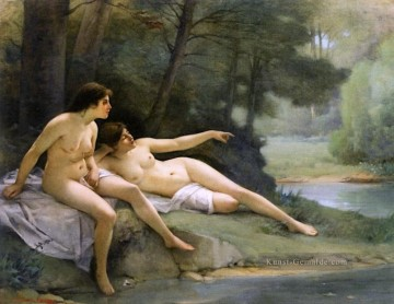 Guillaume Seignac Werke - Nackts in the Woods nackt Guillaume Seignac