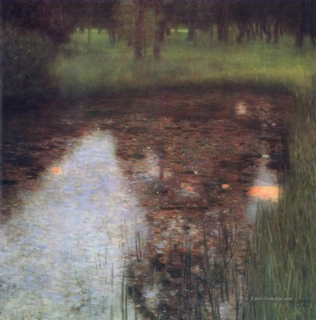 The Swamp Gustav Klimt Ölgemälde