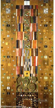 Design for the Stocletfries Gustav Klimt Ölgemälde