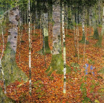 Gustave Klimt Werke - Farmhouse with Birch Trees Gustav Klimt