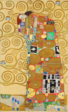 the annunciation 1785 Ölbilder verkaufen - The Tree of Life Stoclet Frieze right Gustav Klimt