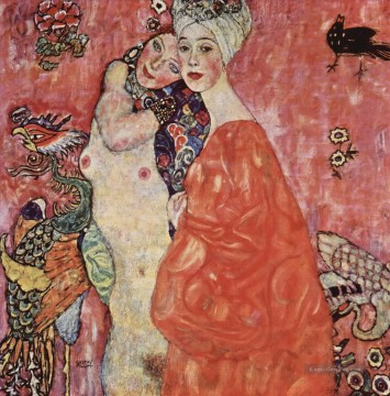Gustave Klimt Werke - The Women Friends Gustav Klimt