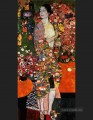 The dancer red Gustav Klimt