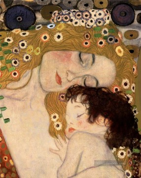 Gustave Klimt Werke - Three Ages of Woman part Gustav Klimt