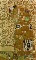 artoon for the Frieze of the Villa Stoclet in Brussels Fulfillment Gustav Klimt