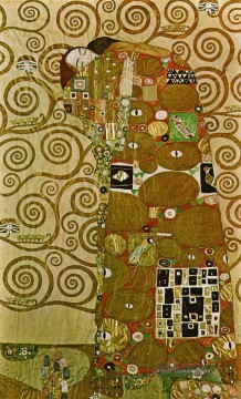 Gustave Klimt Werke - artoon for the Frieze of the Villa Stoclet in Brussels Fulfillment Gustav Klimt