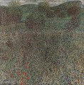 Blooming field Gustav Klimt