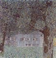 Farmhouse in Upper Austria Gustav Klimt