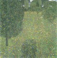 Landschaftsgarten Meadow in Flower Gustav Klimt