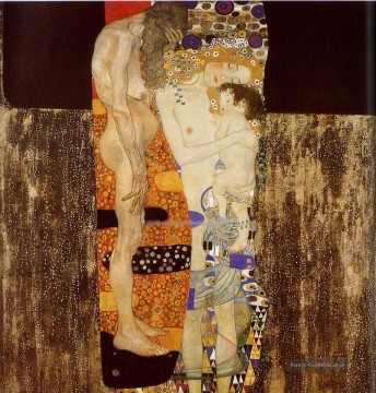 Gustave Klimt Werke - The Three Ages of Woman Gustav Klimt
