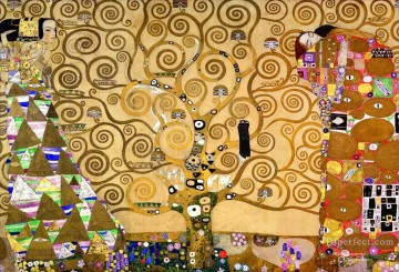 Gustave Klimt Werke - The Tree of Life Stoclet Frieze Gustav Klimt