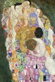 Death and Life part Gustav Klimt