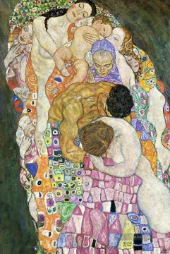 Gustave Klimt Werke - Death and Life part Gustav Klimt